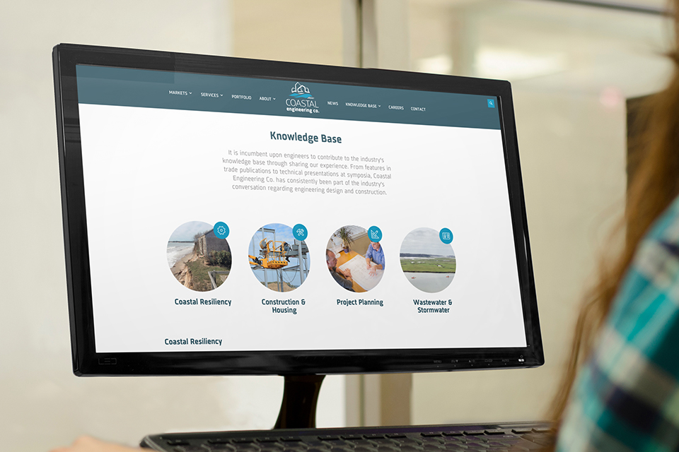 Coastal Engineering Company Website Design and Development